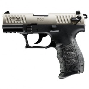 Walther P22 CA Nickel 22 Long Rifle