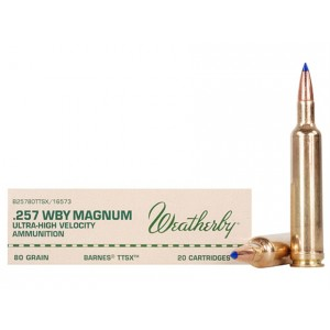 Weatherby Select Plus 257 Weatherby Magnum 20rd Ammo