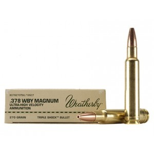 Weatherby Select Plus 378 Weatherby Magnum 20rd Ammo