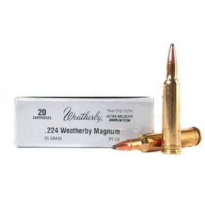 Weatherby Select Plus 224 Weatherby Magnum 20rd Ammo