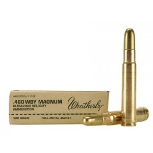 Weatherby Select Plus 460 Weatherby Magnum 20rd Ammo
