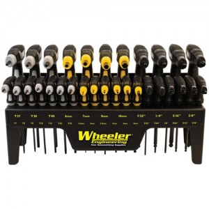 Wheeler 30 Piece SAE/Metric Hex and Torx P-Handle Set