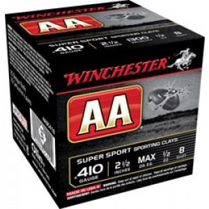 Winchester Ammunition .410 Sporting Clays Super Sport #8