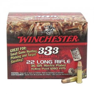 Winchester USA 22 Long Rifle 333rd Ammo