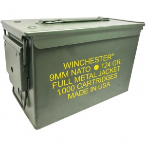 Winchester NATO 9mm Luger 1000rd Ammo