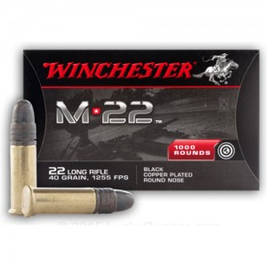 Winchester M22 22 Long Rifle 1000rd Ammo