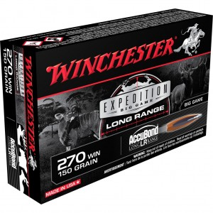 Winchester Expedition Big Game LR 270 Winchester 20rd Ammo