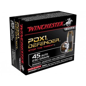 Winchester Defender 45 ACP 20rd Ammo