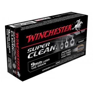 Winchester Super Clean NT 9mm Luger 50rd Ammo