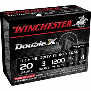 Winchester Double X 20 Gauge 4 Shot 10rd Ammo