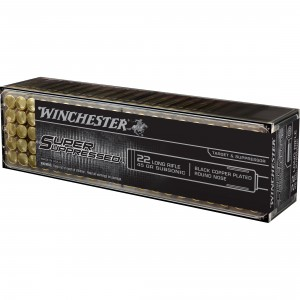 Winchester Super Suppressed 22 Long Rifle 100rd Ammo