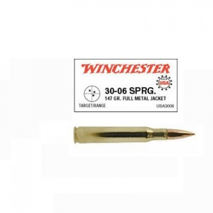 Winchester USA 30-06 Springfield 20rd Ammo