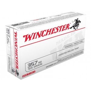 Winchester USA 357 Sig 50rd Ammo