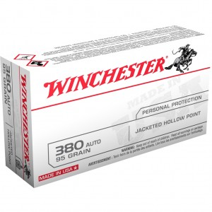 Winchester USA 380 ACP 50rd Ammo