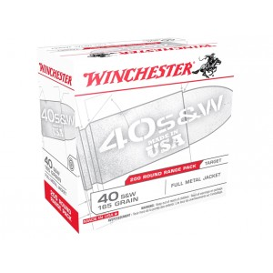 Winchester USA 40 Smith & Wesson 200rd Ammo