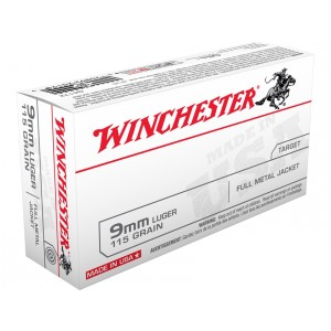 Winchester USA 9mm Luger 200rd Ammo
