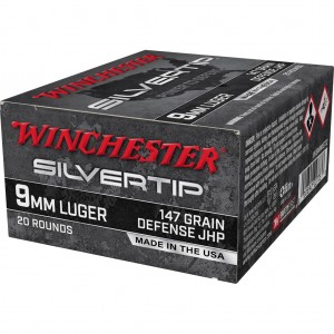 Winchester Silvertip 9mm Luger 20rd Ammo