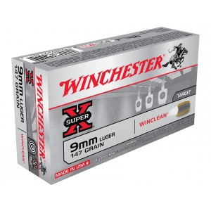 Winchester Super X 9mm Luger 50rd Ammo