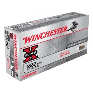 Winchester Super X 222 Remington 20rd Ammo