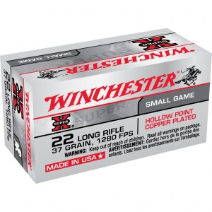 Winchester Super X 22 Long Rifle 50rd Ammo