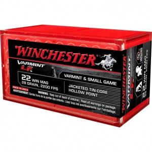 Winchester Varmint LF 22 Winchester Magnum Rimfire 50rd Ammo
