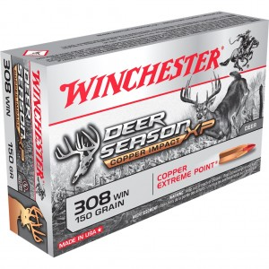 Winchester Deer Season XP Copper Impact 308 Win 20rd Ammo