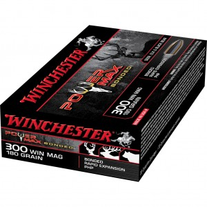 Winchester Power Max Bonded 300 Winchester Magnum 20rd Ammo