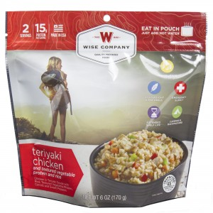 Wise Foods Teriyaki Chicken and Rice