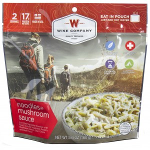 Wise Foods Noodles in Mushroom Sauce with Beef
