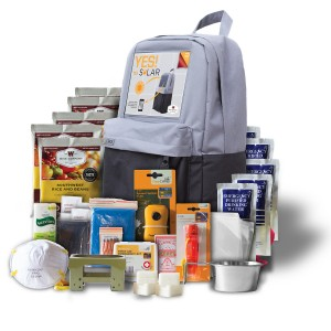 Wise Foods Solar Powered Five Day Emergency Survival Kit