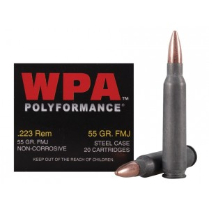 Wolf Polyformance 223 Remington 500rd Ammo
