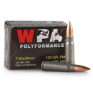 Wolf Polyformance 7.62x39mm 20rd Ammo