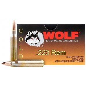 Wolf Performance 223 Remington 20rd Ammo