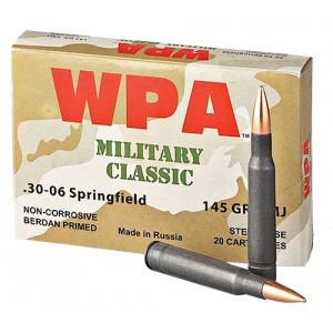 Wolf Military Classic 30-06 Springfield 20rd Ammo