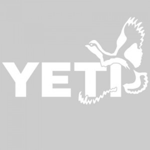 YETI Quail Window Decal