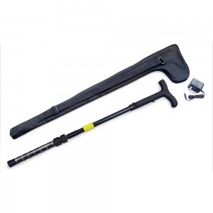 ZAP Stun Gun Walking Cane with Flashlight