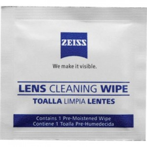 Zeiss 60ct Lens Wipes in Box