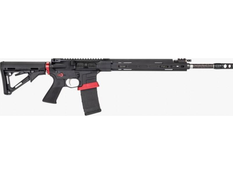 Savage 22936 MSR15 Competition Semi-Automatic 224 Valkyrie 18 30+1 Magpul CTR Black Stk Black|Stainless Steel in.