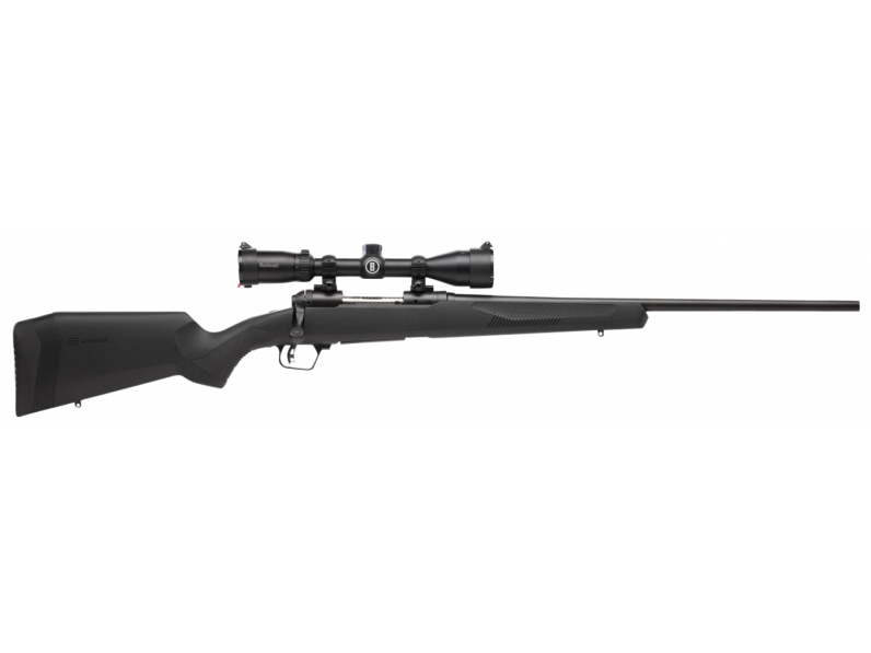 Savage 57028 10|110 Engage Hunter XP Bolt 270 Winchester 22 4+1 Synthetic Black Stk Black with Scope in.