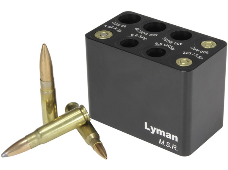 Lyman 7833003 MSR Ammo Checker Block