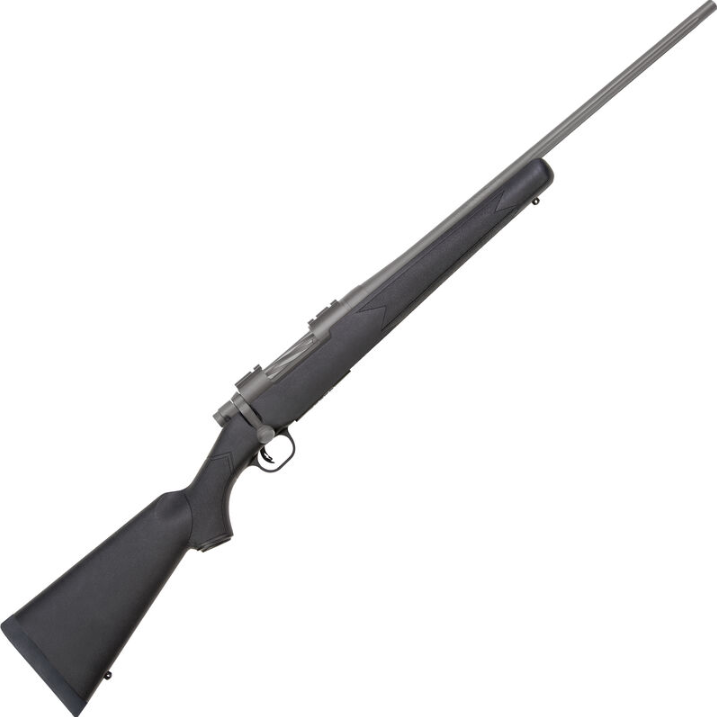 Mossberg 28008 Patriot Synthetic Bolt 6.5 Creedmoor 22 4+1 Synthetic Black Stk Stainless Cerakote in.
