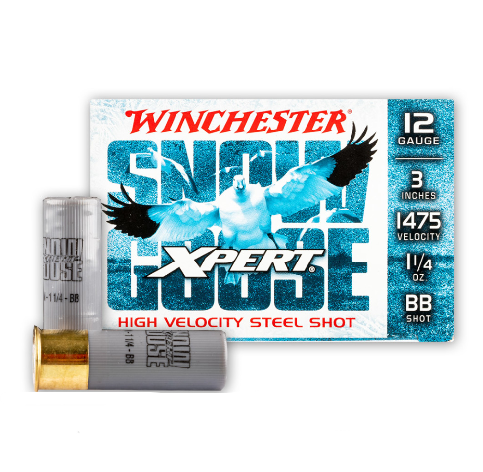 Winchester Ammo WXS123BB Expert Shotshell 12 Gauge 3 1-1|4 oz BB Shot 25 Bx| 10 Cs in.
