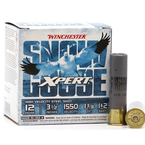 Winchester Ammo WXS12L12 Expert Waterfowl 12 Gauge 3.5 8 Shot 25 Bx|10 Cs in.