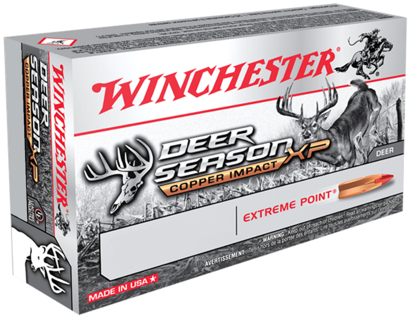 Winchester Ammo X243DSLF Deer Season XP 243 Winchester 85 GR Extreme Point Lead Free 20 Bx| 10 Cs