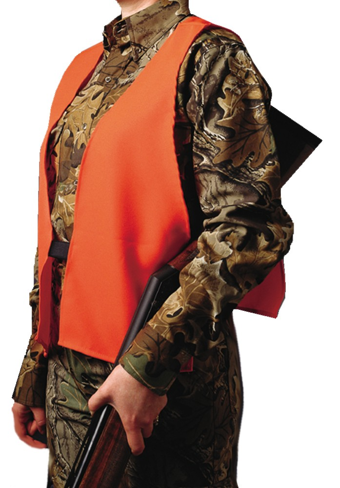 Hunters Specialties 02000 Super Quiet Safety Vest Orange One Size Fits All Neoprene