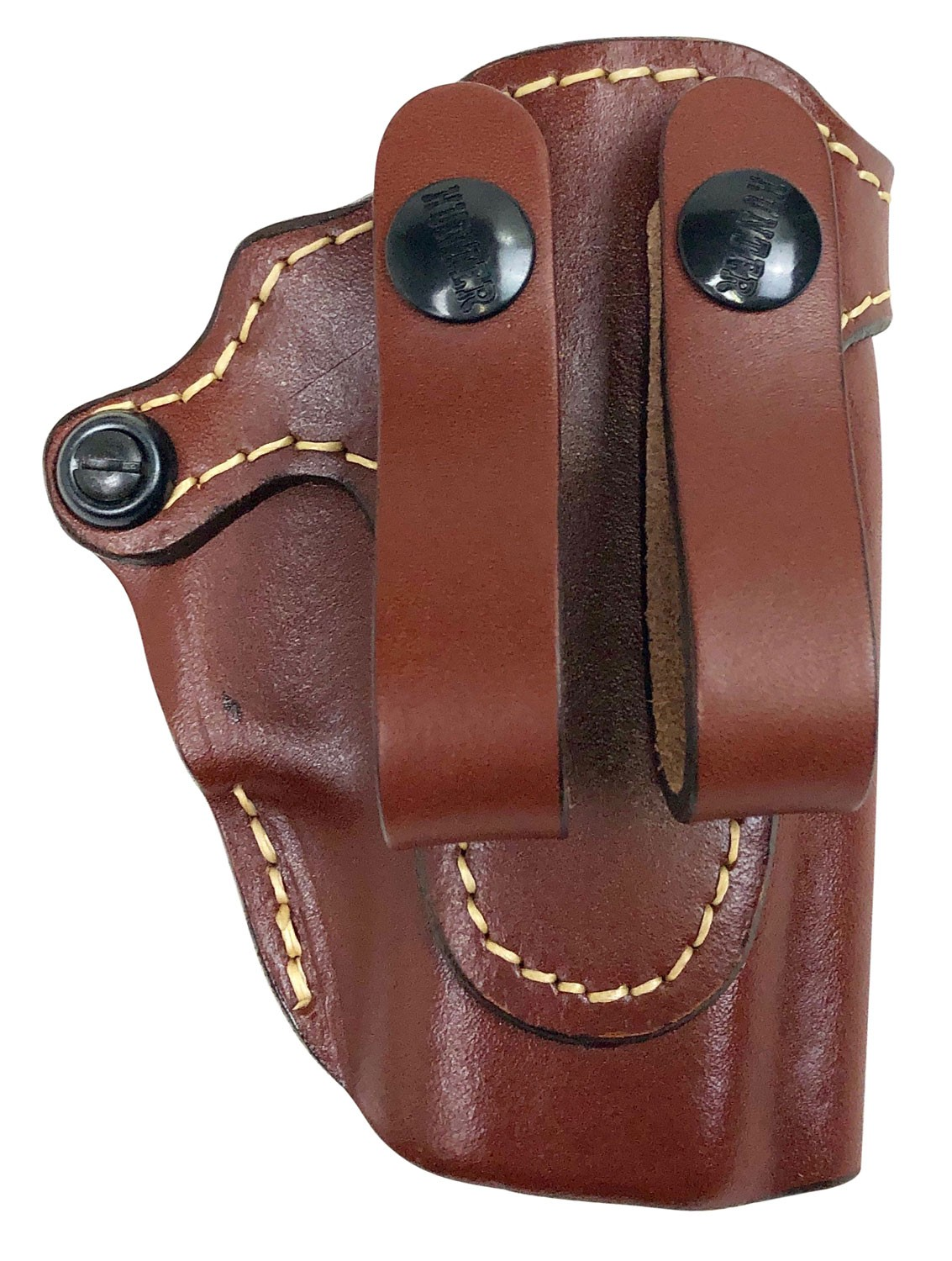 Hunter Company 470042 Pro-Hide IWB Fits Glock 42 Leather Brown