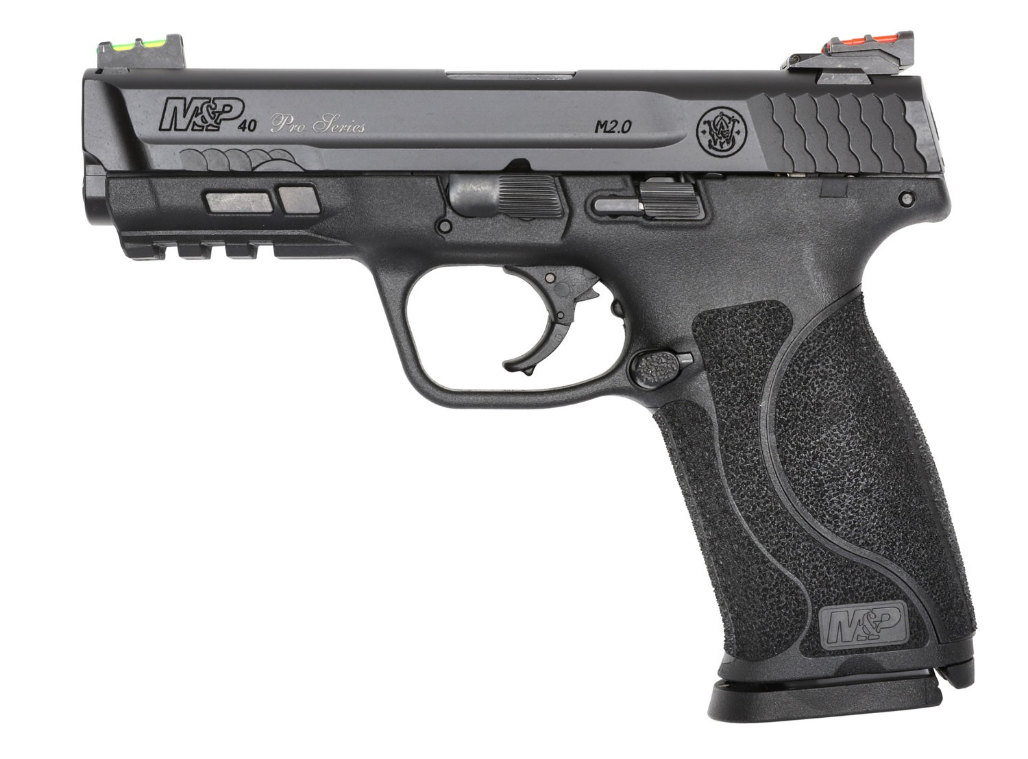 Smith & Wesson 11819 M&P 40 Performance Center M2.0 40 S&W 4.25in. 15+1 Black Armornite Stainless Steel Black Synthetic Grip