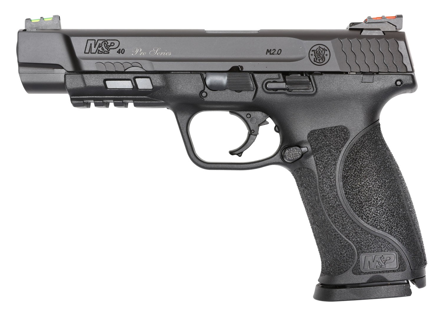 Smith & Wesson 11821 M&P 40 Performance Center M2.0 40 S&W 5in. 15+1 Black Armornite Stainless Steel Black Synthetic Grip
