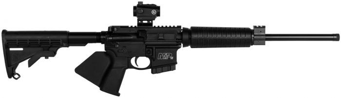 Smith & Wesson 12938 M&P15 Sport II OR *CA Compliant w/ CTS-103 Red/Green Dot 5.56 NATO 16in. 10+1 Matte Black