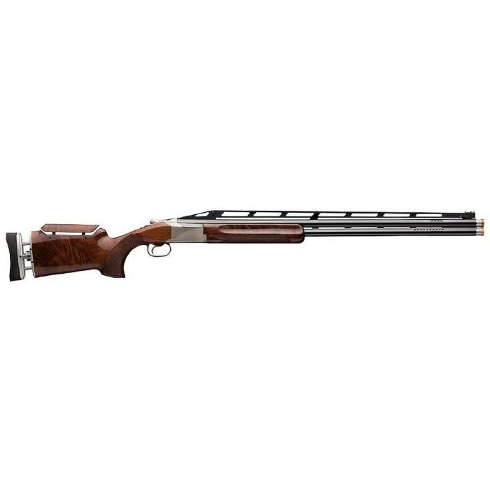 """Browning 0181624010 Citori 725 Trap Max 12 Gauge 30"""" 2 2.75"""" Silver Nitride Monte Carlo Adjustable Comb Stock Gloss Black Walnut Right Hand"""